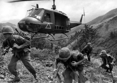 1st Cavalry Assaulting From a Helicopter I–corps
