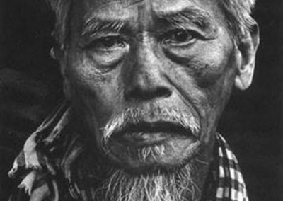 Portrait of an Older Vietnamese Man During the Battle of Hue, February 1968