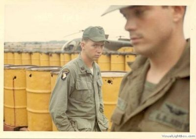 Soldiers on an Airfield, Young Soldiers Were Heavily Influenced by Their Experiences in Vietnam