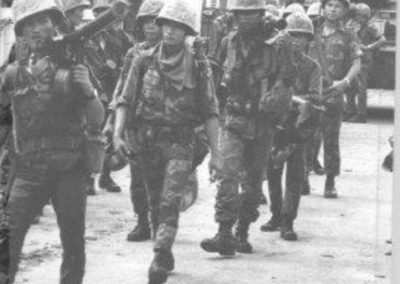 Vietnamese Marines Fight Communist Infiltrators in Gia Dinh