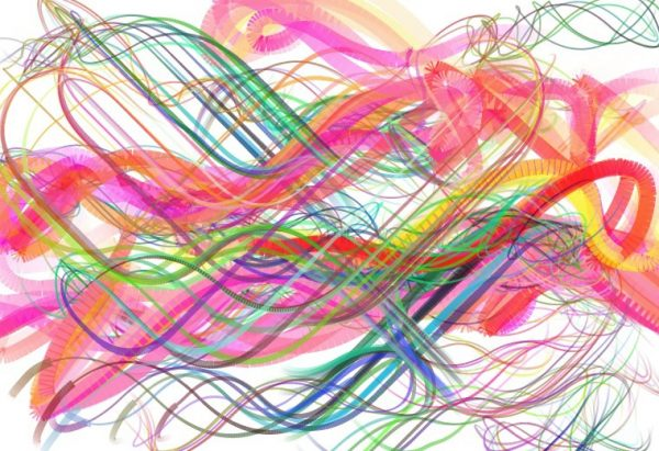 Abstract image created using bomomo dot com website