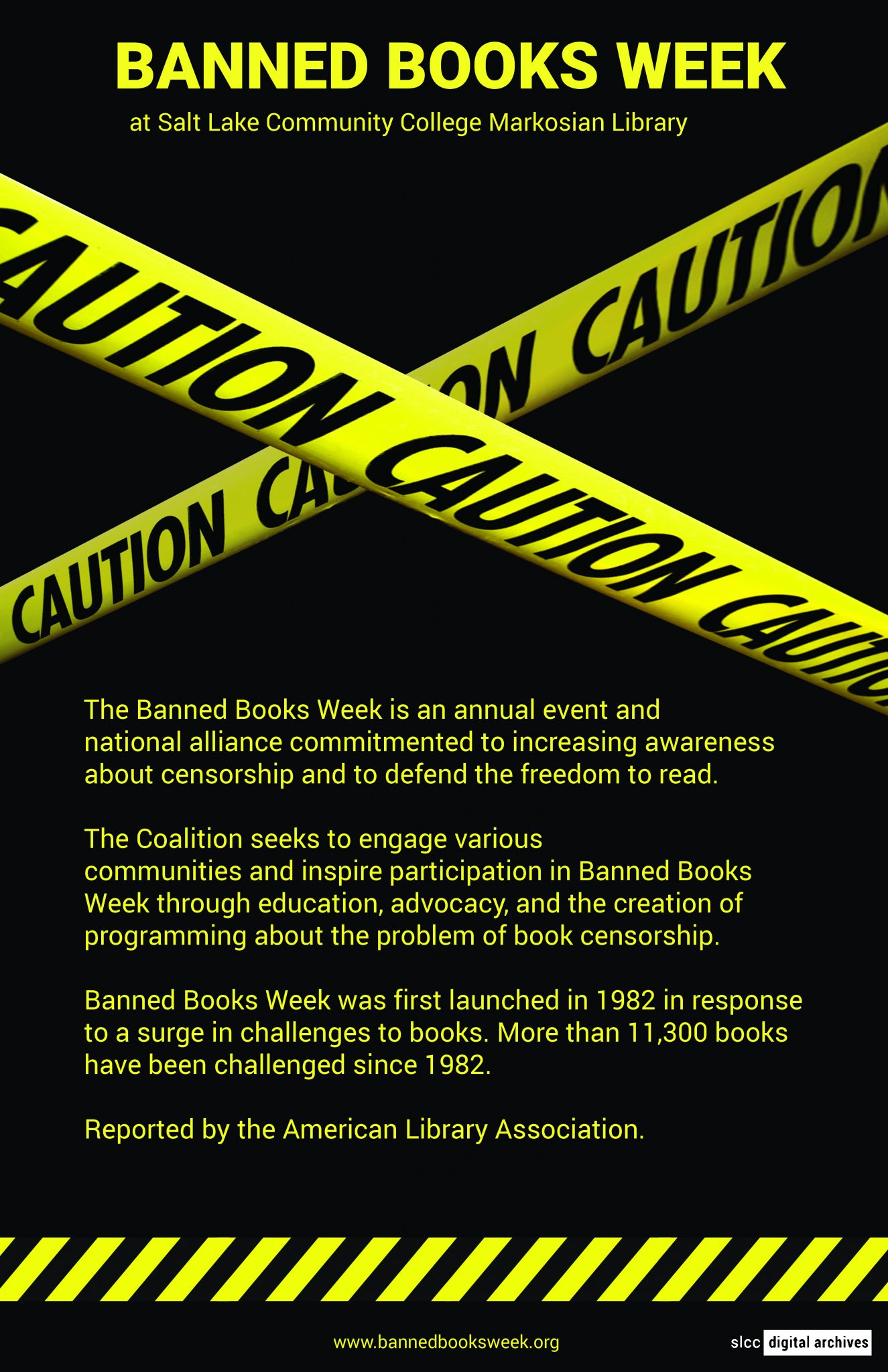 Banned Books Week Poster: 2017