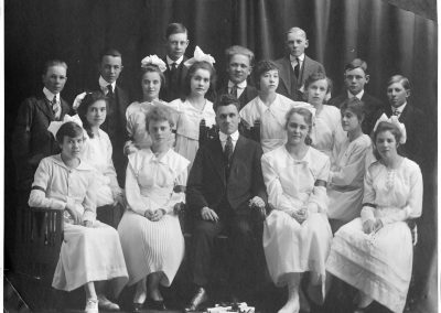 William Hoskins' Class, Newton Grade School, 1917-1918