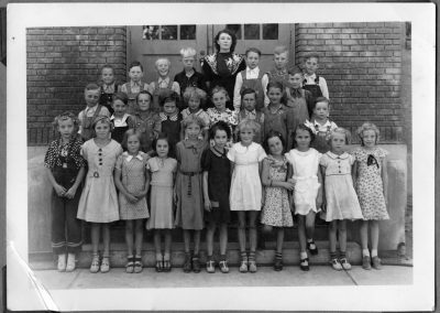 Blanch Read Class, Newton Grade School, 1938-1939