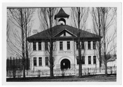 Newton, Utah school 1907-1923