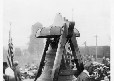 Liberty Bell at Cache Junction, Utah on July 11, 1915