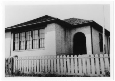 Cache Junction, Utah school house, 1910