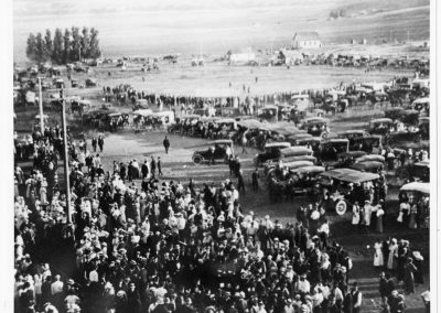 Crowds gathered to see the Liberty Bell in Cache Junction (2 of 2)