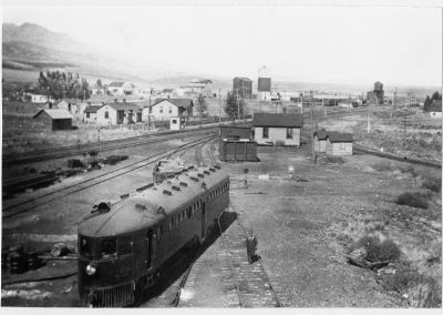 Cache Junction, Utah railroad yards, 1916