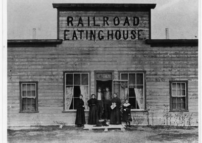 Cache Junction, Utah Café and Hotel 'The Railroad Eating House""