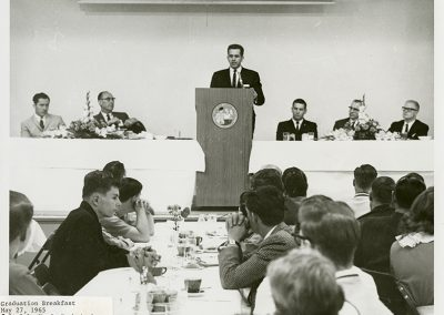 Graduation Breakfast May 27, 1965