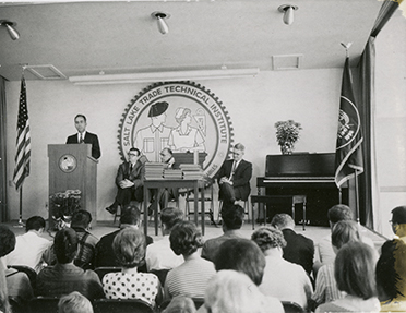 Commencement At SLCC in August 1965