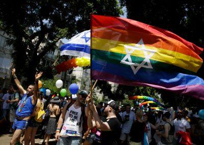 Image of Tel Aviv's LGBTQ Pride parade