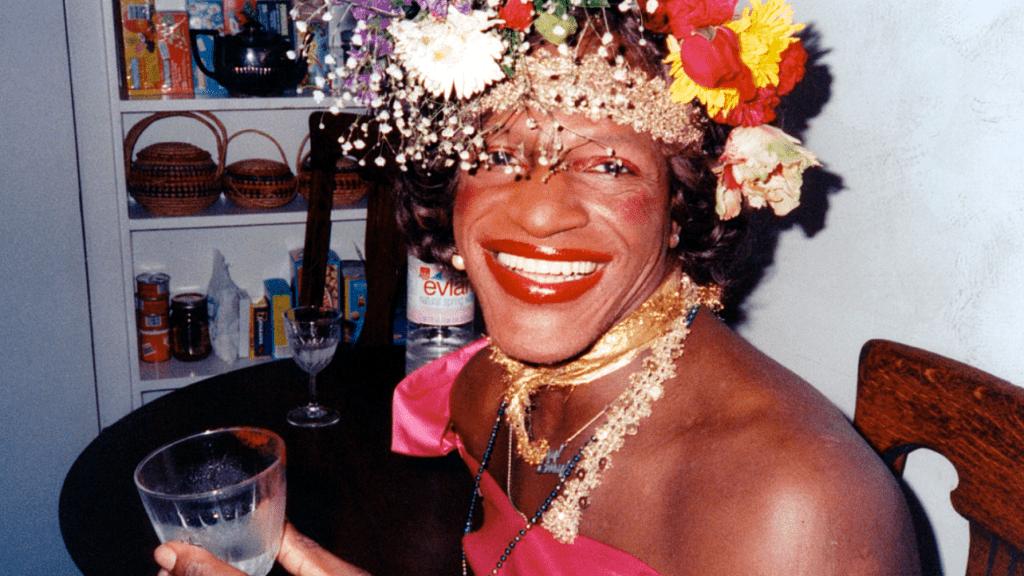 Marsha P. Johnson / Image via NETFLIX, THE DEATH AND LIFE OF MARSHA P. JOHNSON